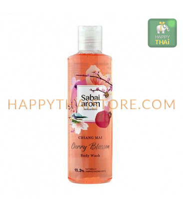 Sabai-arom Cherry Blossom Body Wash & Shower Gel, 250 ml