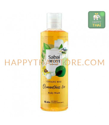 Sabai-arom Osmanthus Tea Bath & Shower Gel, 250 ml