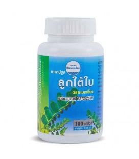 Kongka Herb Liver Treanment Capsules Phyllanthus Amarus (Luk Tai Bai), 60 g
