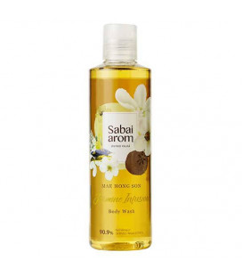 Sabai-arom Jasmine Infusion Body Wash & Shower Gel, 250 ml