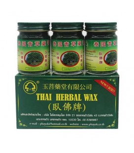Phoyok Set Thai Herbal Balm, 3x50 g