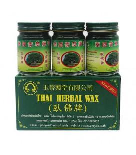 Phoyok Set Thai Herbal Balm, 3x50 g