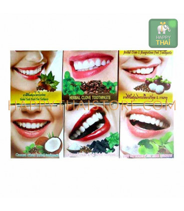 Siam Herb Тайская зубная паста 12 шт