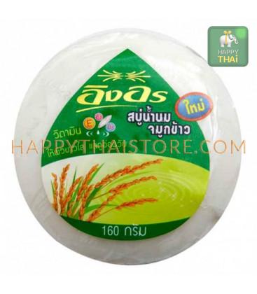 Ing On Мыло на основе рисового молочка, 160 г