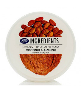 Boots Ingredients Coconut & Almond Intensive Hair Mask, 400 ml