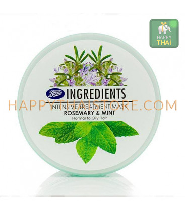 Ingredients Intensive Treatment Mask Rosemary & Mint 400 ml