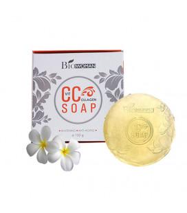 BioWoman Коллагеновое мыло с витамином С, 100 г