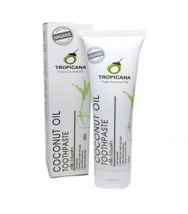 Tropicana Organic Coconut Oil Toothpaste 100 g
