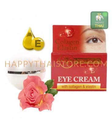 Nature Republic Крем для кожи вокруг глаз с коллагеном, эластином и витамином Е, 15 мл