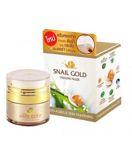 BM-B Snail Gold Volume-Filler Anti-Aging Cream, 15 g