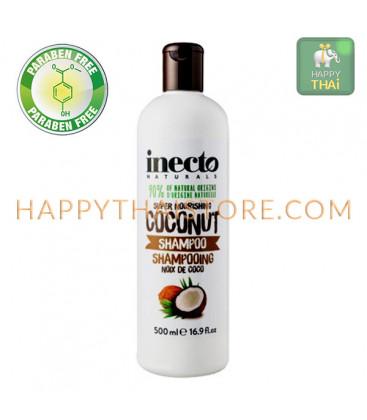Inecto Moisture Infusing Shampoo coconut, 500 ml