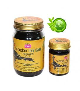 Banna Тайский черный бальзам с ядом скорпиона, 50 г, 200 г