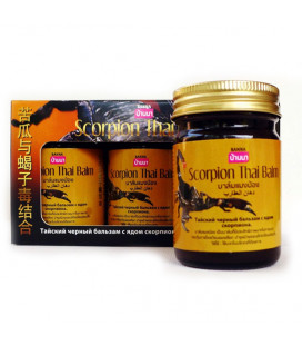 Banna Scorpion Black Balm, Set 3 pcs