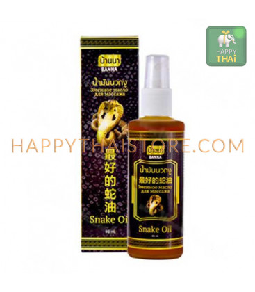 Banna Snake Massage Oil, 85 ml