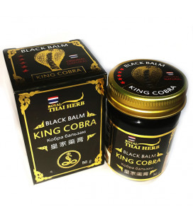 Royal Thai Herb Black Balm King Cobra, 50 g