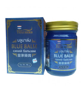 Royal Thai Herb Blue Balm for Varicose Veins and Tired Legs, 50 g