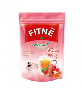Fitne Herbal Infusion Fruity Tea Lychee Flavored, Slimming, Weight Loss, Diet, 18 g