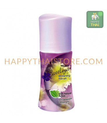 Mistine Whitening Roll-On Natural Active Deodorant, 50 ml