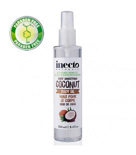 Inecto Спрей для тела из органического кокосового масла, 200 мл