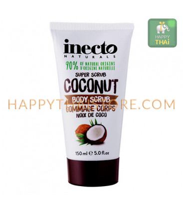 Inecto Naturals Coconut Body Scrub, 150 ml