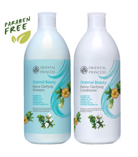 Oriental Princess Detox Clarifying Shampoo & Conditioner, 400 ml
