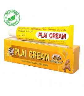 Abhaibhubejhr Plai Cream Relieve Muscular Aches, Pain and Sprains, 25 g