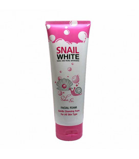 Sala-C by Seira Snail And Pearl Whitening Facial Foam 180 ml