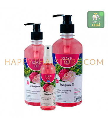 Banna Rose Massage Oil