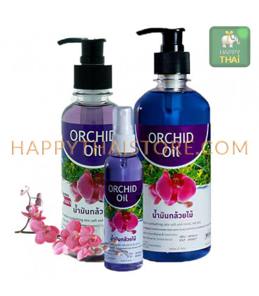 Banna Orchid Massage Oil