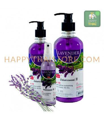 Banna Lavender Massage Oil
