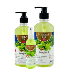 Banna Herbal Massage Oil