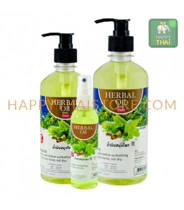 Banna Herbal Massage Oil, 450 ml