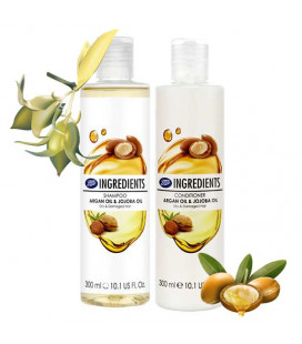 Boots Ingredients Shampoo and Conditioner Argan Oil & Jojoba Oil, 300 ml