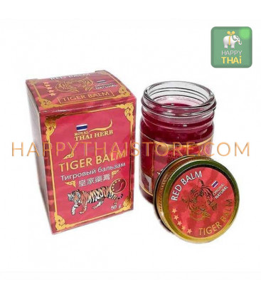 Royal Thai Herb Red Tiger Balm, 50 g