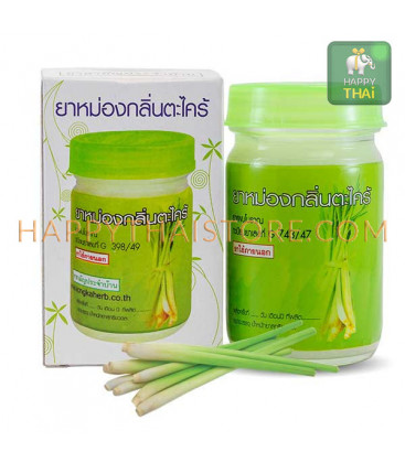 Kongka Herb Thai natural remedy Lemongrass balm, 50 g