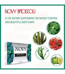 Novy Broccoli Slimming Capsules, 10 pcs