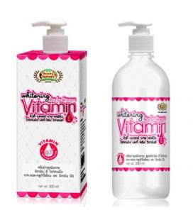 Beauty Nature Отбеливающий крем для тела с витамином Е, 300 мл