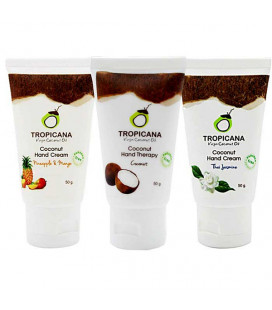 Tropicana Oil Natural Coconut Hand Cream 50g