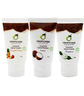 Tropicfna Крем для рук на основе кокосового масла, 50 г
