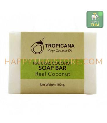 Tropicana натуральное кокосовое мыло, 100 г