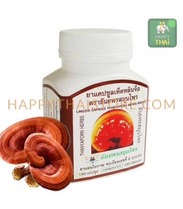 Thanyaporn Herbs Капсулы Линчжи, Рейши противоопухолевое средство, 60 г