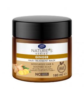 Nature's Series Питательная маска для волос с имбирным маслом, 180 мл