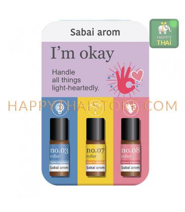 Sabai-arom I'm OKAY Petit Trio On The Go 3 ml. X 3 pcs
