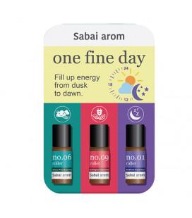 Sabai-arom One Fine Day Petit Trio On The Go 3 ml -3 pcs