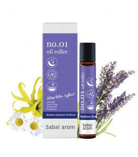 Sabai-arom Aromatic oil roller for sleep, 8 ml