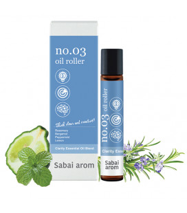 Sabai-arom Aromatic oil relaxing roller 8 ml