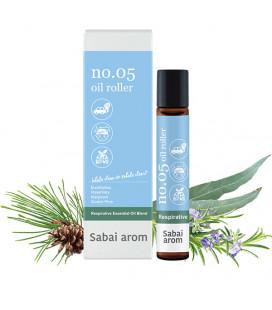 Sabai-arom Aromatic oil roller for easier breathing, 8 ml