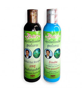 Jinda Herb Treatment Shampoo and Conditioner, 500 ml