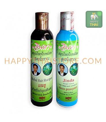 Шампунь и кондиционер Jinda Herb от выпадения волос