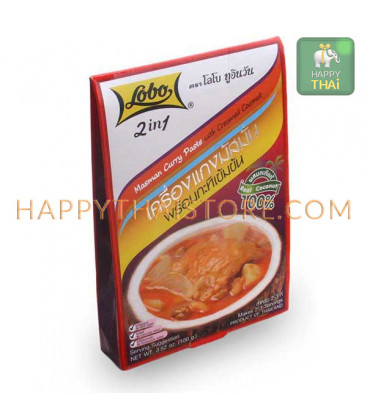 Lobo Masman Curry Paste, 100 g